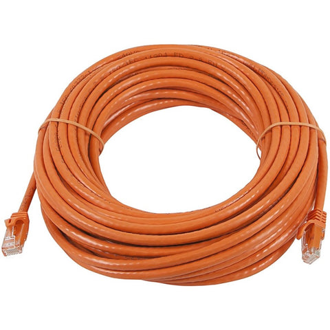 Monoprice FLEXboot Series Cat6 24AWG UTP Ethernet Network Patch Cable, 75ft Orange