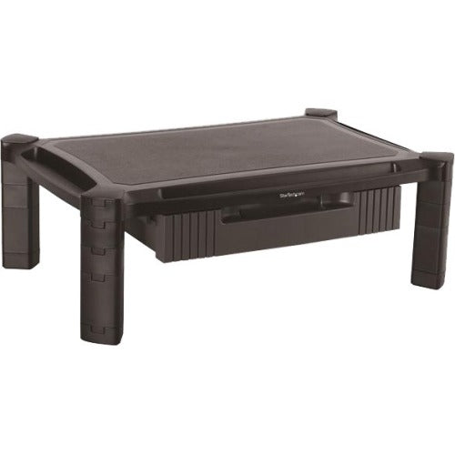 StarTech.com Adjustable Monitor Riser - Large - Drawer - Monitors up to 32