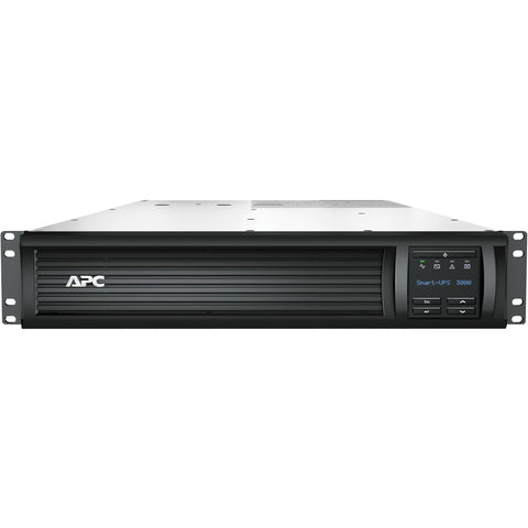 APC by Schneider Electric Smart-UPS 3000VA LCD RM 2U 120V with Network Card