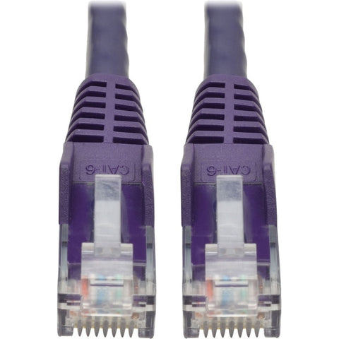Tripp Lite 2ft Cat6 Snagless Molded Patch Cable UTP Purple RJ45 M-M 2' -> May Require up to 5 Business Days to Ship - SystemsDirect.com