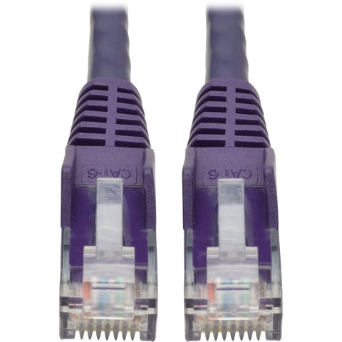 Tripp Lite 6ft Cat6 Snagless Molded Patch Cable UTP Purple RJ45 M-M 6' -> May Require up to 5 Business Days to Ship - SystemsDirect.com