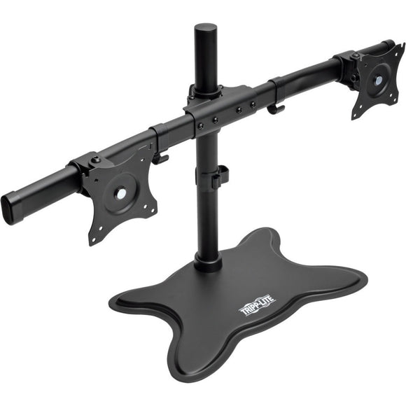 Tripp Lite Dual-Monitor TV Desktop Display Mount Stand Full Motion 13