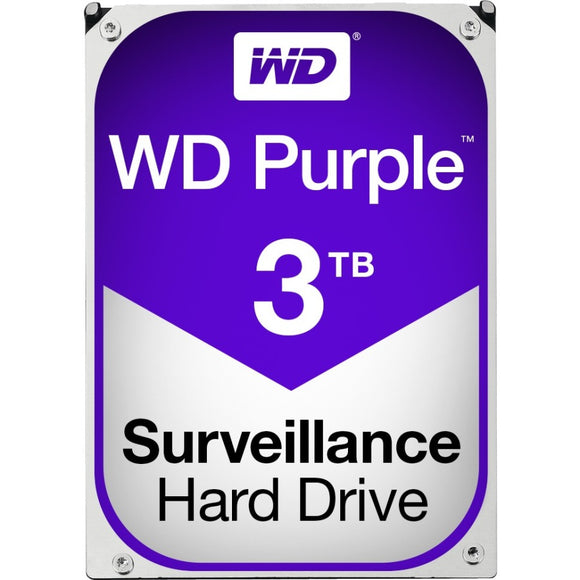 WD Purple 3TB Surveillance Hard Drive