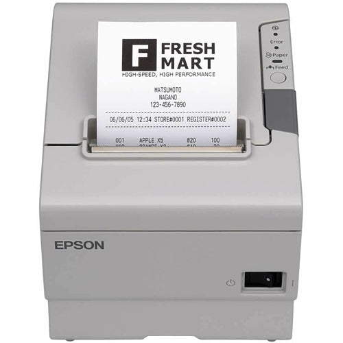 Epson Pos Epson Tm-t88v Direct Thermal Receipt Printer. 2.83in Print Width. Usb And Serial