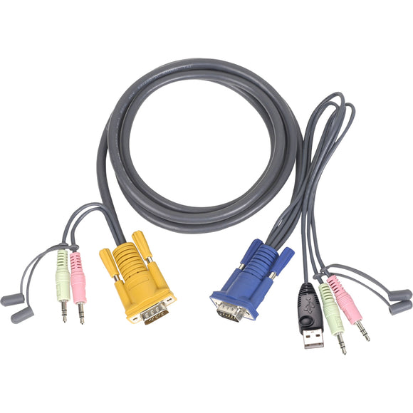 IOGEAR Multimedia USB KVM Cable