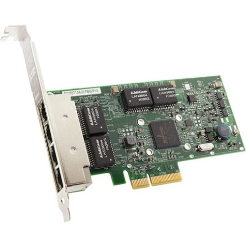 Lenovo ThinkSystem NetXtreme PCIe 1Gb 4-Port RJ45 Ethernet Adapter By Broadcom