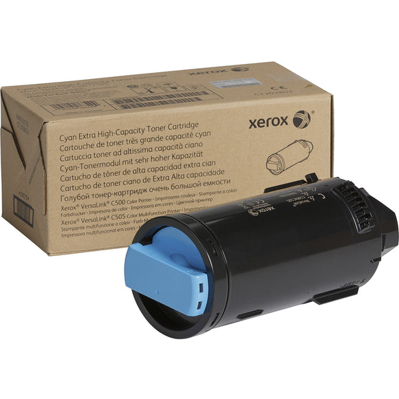 Genuine Xerox Cyan Extra High Capacity Toner Cartridge For The Versalink C500-c5