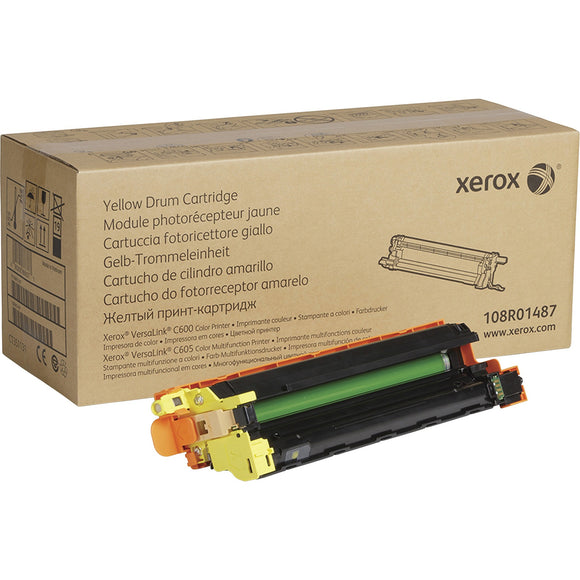 Genuine Xerox Yellow Drum Cartridge For Versalink C600-c605
