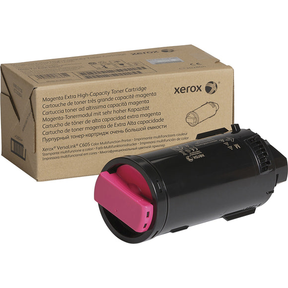Genuine Xerox Magenta Extra High Capacity Toner Cartridge For The Versalink C605