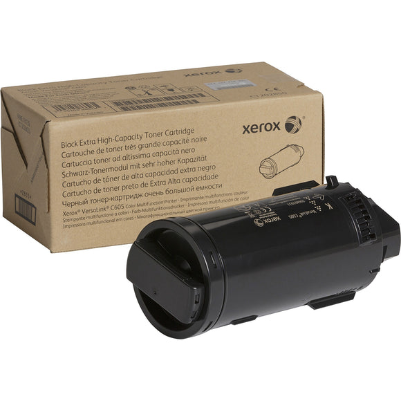 Genuine Xerox Black Extra High Capacity Toner Cartridge For The Versalink C605