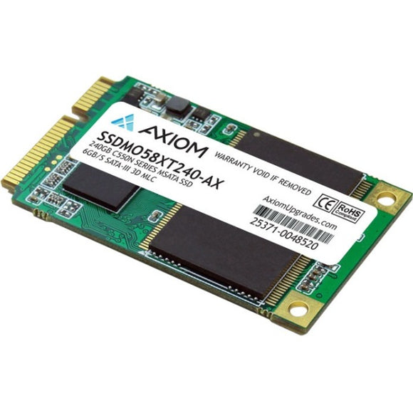 Axiom C550n 240 GB Solid State Drive - SATA (SATA-600) - Internal - mSATA (MO-300) - TAA Compliant