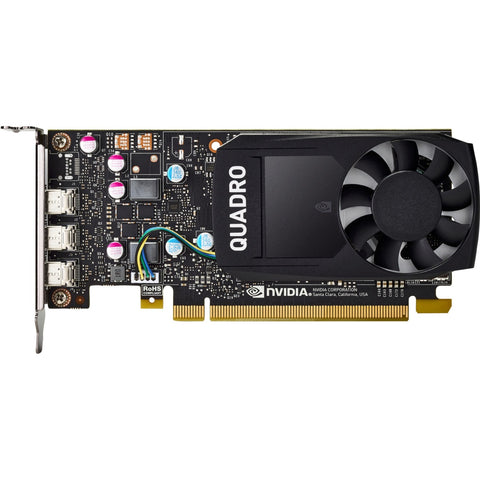 HP Quadro Graphic Card - 2 GHz Core - 2 GB GDDR5 - Low-profile