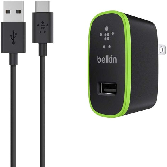 Belkin USB-C to USB-A Cable with Universal Home Charger