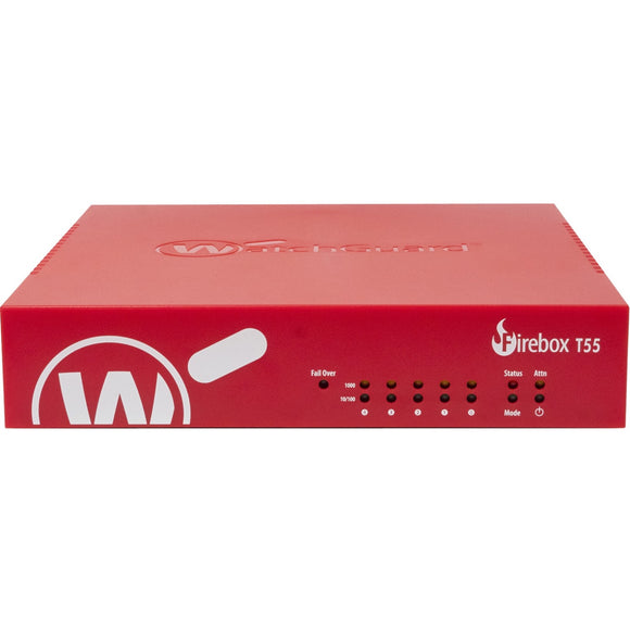 WatchGuard Firebox T55 with 3-yr Total Security Suite (US)