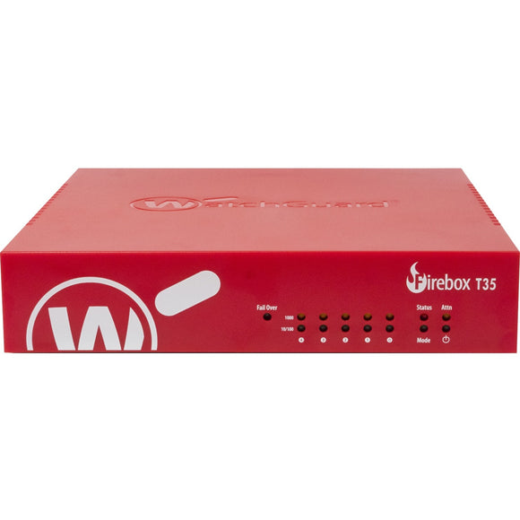 WatchGuard Firebox T35 with 3-yr Total Security Suite (US)