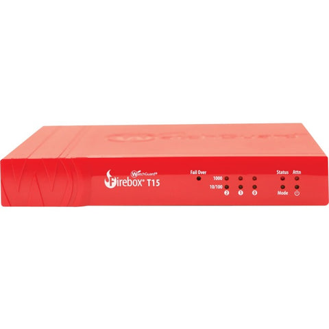 WatchGuard Firebox T15 with 3-yr Basic Security Suite (WW)
