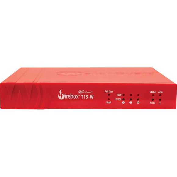 Competitive Trade In to WatchGuard Firebox T15-W with 3-yr Total Security Suite (WW)
