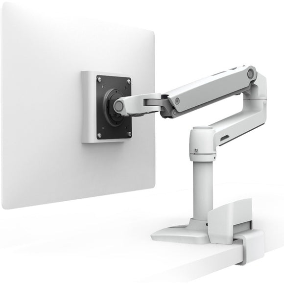 Ergotron Lx Desk Monitor Arm With Top Mount C-clamp