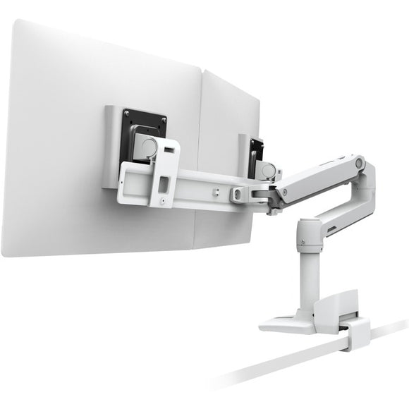 Ergotron Lx Desk Dual Direct Arm With Top Mount C-clamp