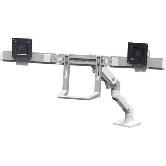 Ergotron Hx Desk Dual Monitor Arm With Top Mount C-clamp