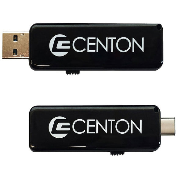 Centon 16 GB DataStick Pro USB 3.0 Type A USB 3.0 Type C On-The-Go Flash Drive
