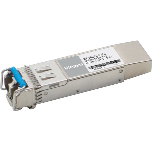 C2G Cisco SFP-10G-LR-S Compatible TAA Compliant 10GBase-LR SFP+ Transceiver (SMF, 1310nm, 10km, LC, DOM)