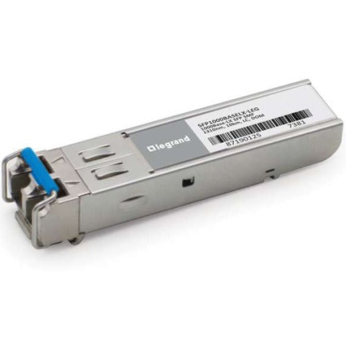 Legrand MSA and 1000Base-LX SFP Transceiver (SMF, 1310nm, 10km, LC) TAA