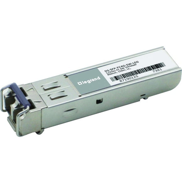 Legrand Cisco DS-SFP-FC4G-SW 1-2-4Gbs Fiber Channel SW SFP Transceiver TAA