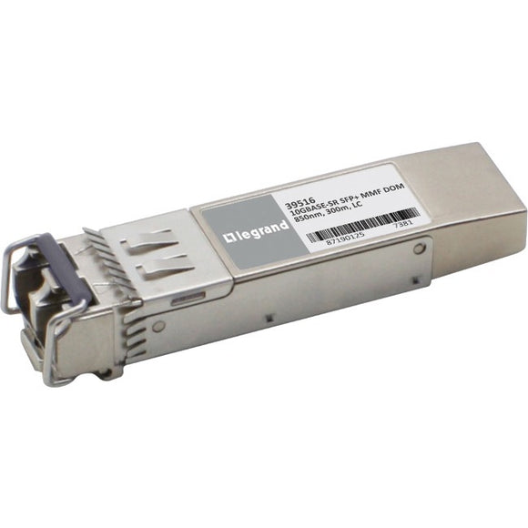 Legrand Extreme Networks 10301 10GBase-SR MMF SFP+ Transceiver (TAA)