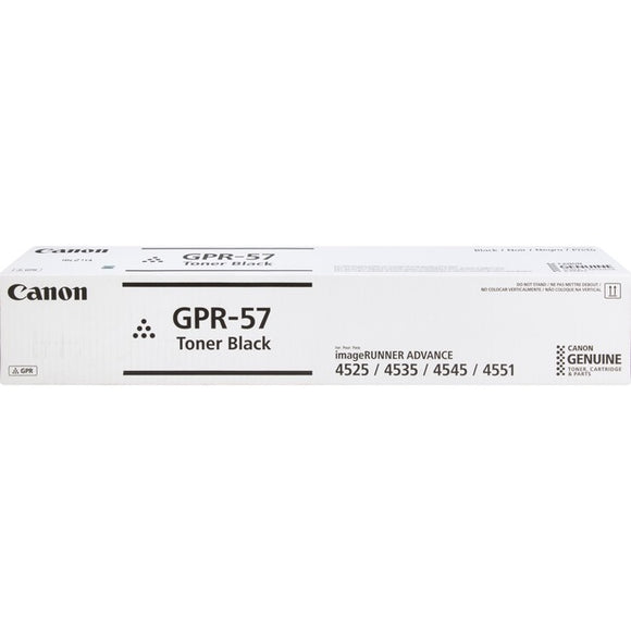 Canon GPR-57 Toner Cartridge - Black - SystemsDirect.com