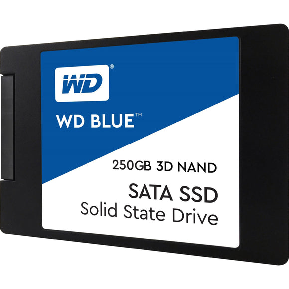 WD Blue 3D NAND 250GB PC SSD - SATA III 6 Gb-s 2.5