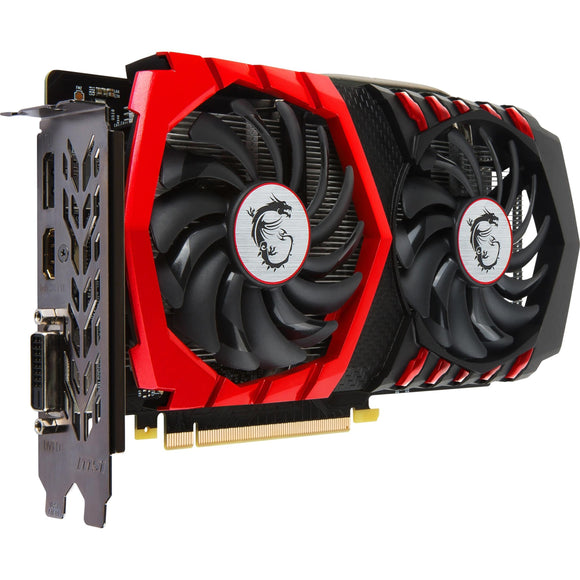 MSI GTX 1050 TI GAMING X 4G GeForce GTX 1050 Ti Graphic Card - 1.38 GHz Core - 1.49 GHz Boost Clock - 4 GB GDDR5