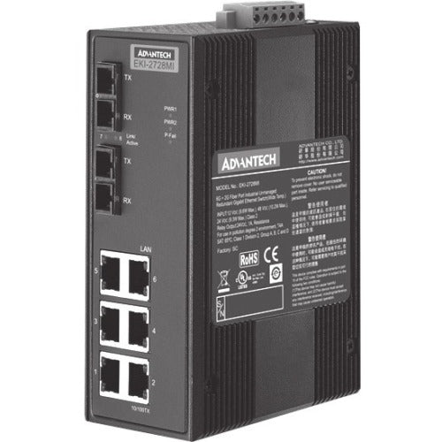 Advantech EKI-2728MI Ethernet Switch