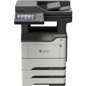 Lexmark MX620 MX622ade Laser Multifunction Printer - Monochrome - Plain Paper Print - Desktop