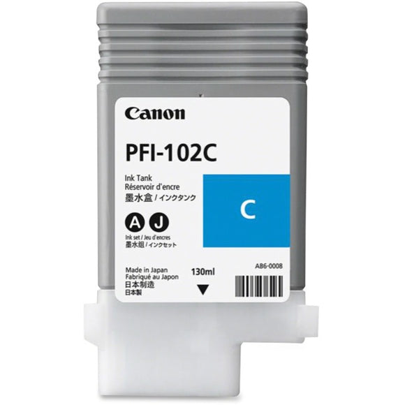 Canon PFI-102C Original Ink Cartridge - SystemsDirect.com
