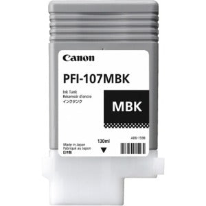 Canon PFI-107MBK Original Ink Cartridge - Matte Black - SystemsDirect.com