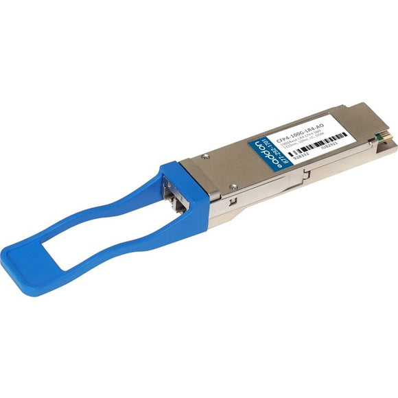 AddOn Cisco Compatible TAA Compliant 100GBase-LR4 CFP4 Transceiver (SMF, 1310nm, 10km, LC, DOM)