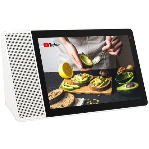 "Lenovo Smart Display SD-8501F ZA3R0001US Tablet - 8"" - 2 GB RAM - 4 GB Storage - Android Things - White, Bamboo, Soft Touch Gray"