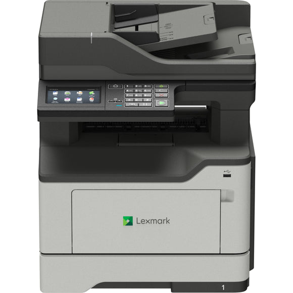 Lexmark MX420 MX421ade Laser Multifunction Printer - Monochrome - TAA Compliant