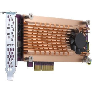 QNAP QM2-2P-344 M.2 to PCI Express Adapter