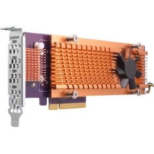 QNAP QM2-4P-342 M.2 to PCI Express Adapter