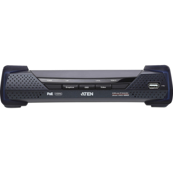ATEN 4K HDMI Single Display KVM over IP Receiver with PoE