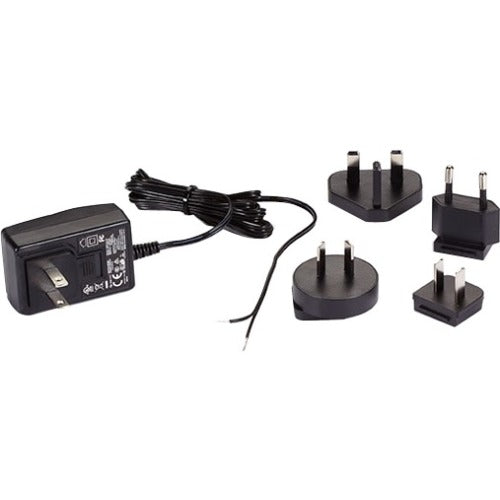 Black Box 120-VAC-12-VDC Wallmount Power Supply with Bare Leads