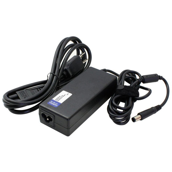 AddOn Dell LA65NS2-01 Compatible 65W 19.5V at 3.34A Laptop Power Adapter and Cable