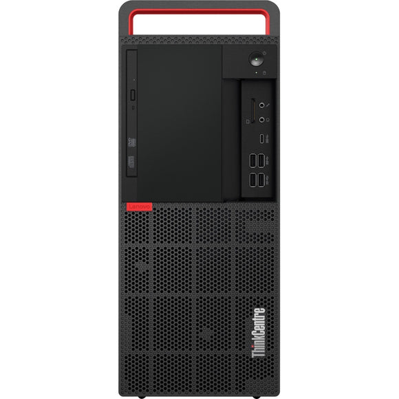 Lenovo ThinkCentre M920t 10SF000BUS Desktop Computer - Intel Core i7 (8th Gen) i7-8700 3.20 GHz - 8 GB DDR4 SDRAM - 256 GB SSD - Windows 10 Pro 64-bit (English) - Tower - Raven Black