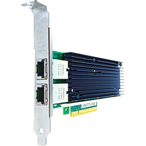 Axiom PCIe x8 10Gbs Dual Port Copper Network Adapter for QLogic