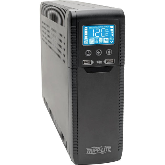 Tripp Lite 1300VA UPS Eco Green Battery Back Up AVR 120V USB Energy Star V2.0