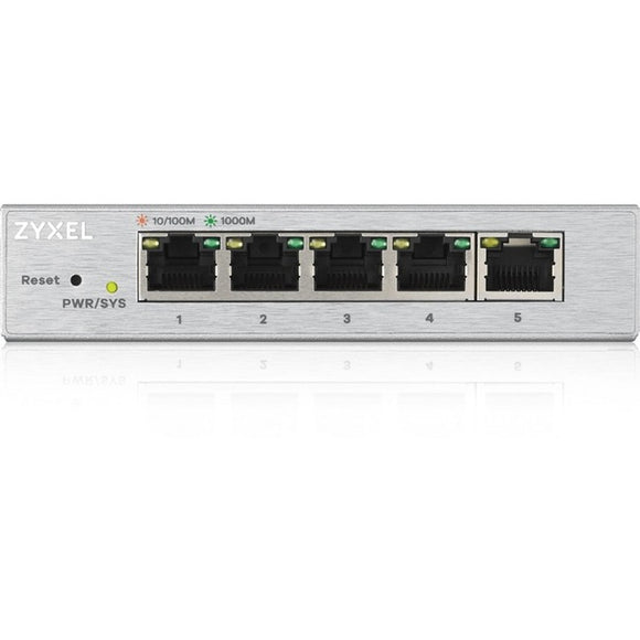 ZyXEL 5-Port Web Managed Gigabit Switch