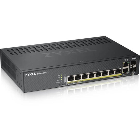 ZyXEL 8-port GbE Smart Managed PoE Switch