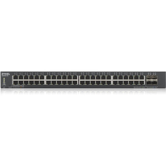 ZYXEL 48-Port GbE Smart Managed Switch with 4 SFP+ Uplink